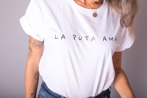 camiseta original la puta ama