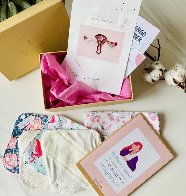 Caja regalo primera menstruacion